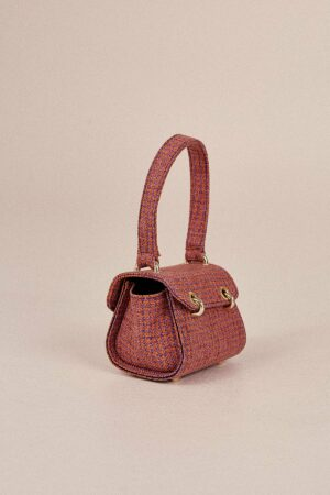 Mini Houndstooth Bag