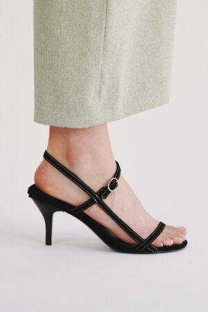 Strappy Suede Sandal