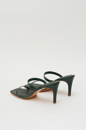 Two Strap Leather Heel